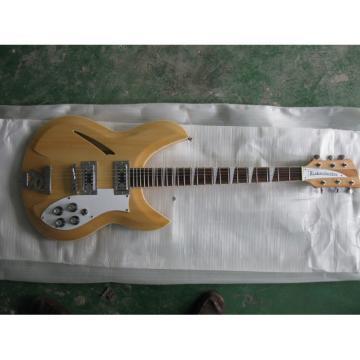 Custom Shop Rickenbacker Natural 330 Guitar
