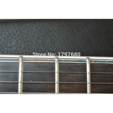Custom Built Regius 7 String Transparent Green Mayones Guitar