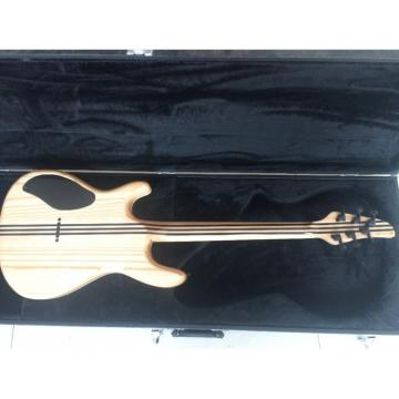 Custom Built Regius 6 String Gray Tiger Maple Top Neck Through Mayones Guitar