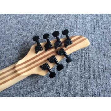 Custom Built Regius 7 String Cherry Sunburst Finish Mayones Guitar