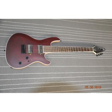 Custom Built Regius 7 String Burgundy Duvell Bolt On Mayones Guitar