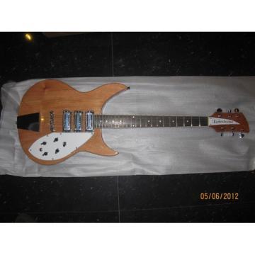 Custom Shop Rickenbacker 330 Natural Guitar