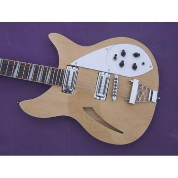 Custom Shop Rickenbacker 330 Natural 12 Strings Guitar