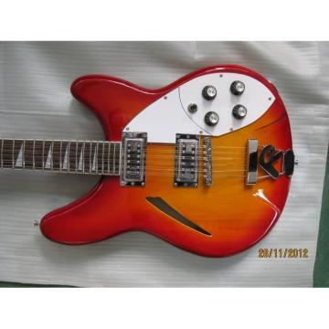 Custom George Beauchamp Rickenbacker Cherry 360 Guitar