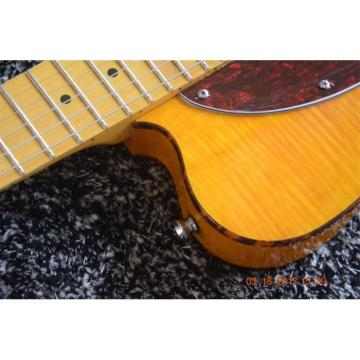 Custom Hofner Telecaster Flame Maple Top H.S. Anderson Mad Cat Guitar