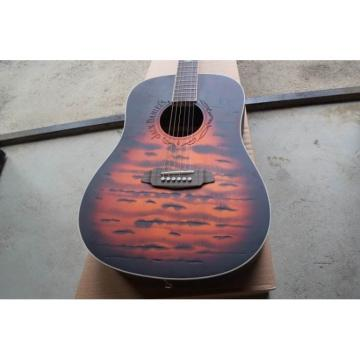 Custom Jack Daniels Tennesse Brown Acoustic Guitar