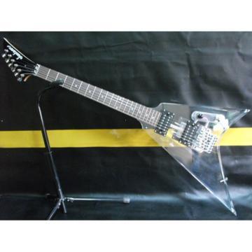Custom Jackson Lucite Acrylic Plexiglass Guitar