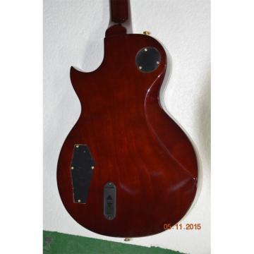 Custom LTD Deluxe ESP Vintage Iced Tea Maple Top Real Abalone Inlay Guitar