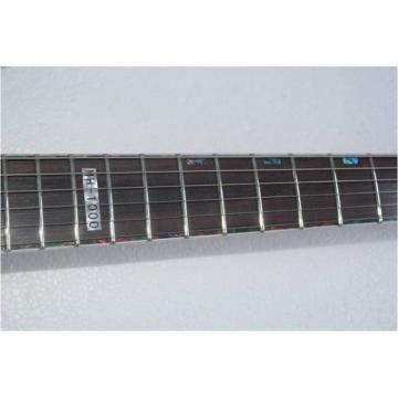 Custom Shop  ESP Black With Floyd Rose Tremolo Guitar