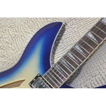 Custom Flame Maple Top  12 Strings 330 Blue White Guitar