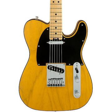 Fender American Elite Telecaster Maple Fingerboard Electric Guitar Butterscotch Blonde