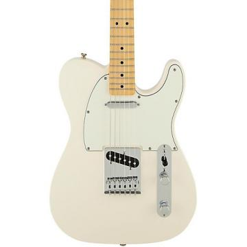 Fender Standard Telecaster Electric Guitar Arctic White Gloss Maple Fretboard