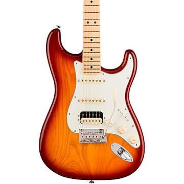 Fender American Professional Stratocaster HSS Shawbucker Maple Fingerboard Electric Guitar Sienna Sunburst