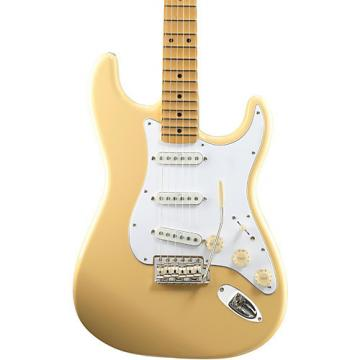 Fender Artist Series Yngwie Malmsteen Stratocaster Electric Guitar Vintage White Maple