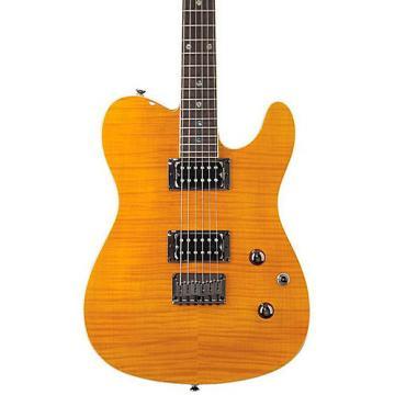 Fender Special Edition Custom Telecaster FMT HH Electric Guitar Amber