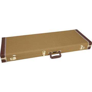 Fender Pro Series Stratocaster/Telecaster Tweed Guitar Case Tweed