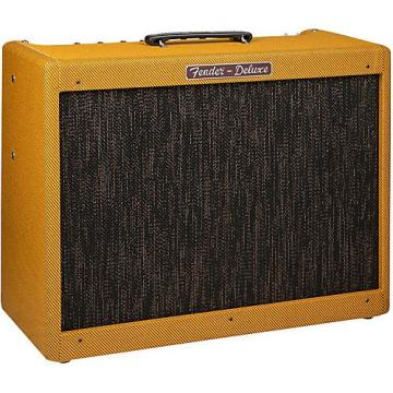 Fender Hot Rod Deluxe Lacquered Tweed, 40-Watt 1x12 Tube Guitar Combo Amplifier Lacquered Tweed
