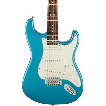 Fender Standard Stratocaster Electric Guitar with Rosewood Fretboard Lake Placid Blue Rosewood Fretboard