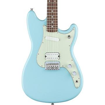 Fender Duo-Sonic HS Rosewood Fingerboard Daphne Blue