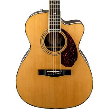 Fender Paramount Series PM-3 Deluxe Cutaway Triple-0 Acoustic-Electric Guitar Natural