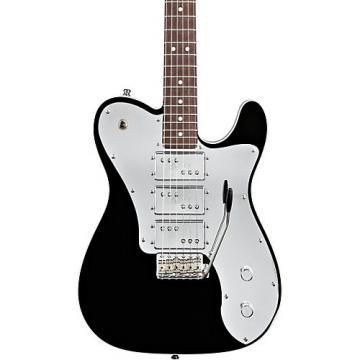 Fender J5 Triple Deluxe Telecaster Electric Guitar Black