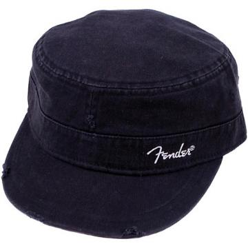 Fender Logo Military Cap Black L/XL