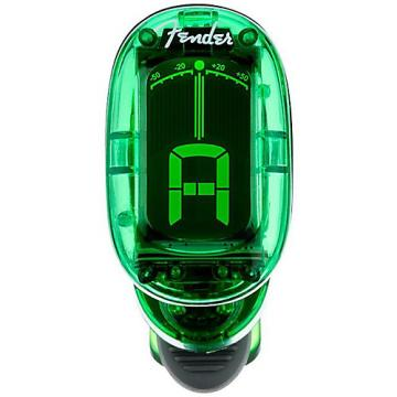 Fender 1620 California Series Clip-On Tuner Green