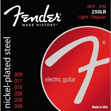 Fender 250LR Super 250 Nickel-Plated Steel Electric Strings - Light/