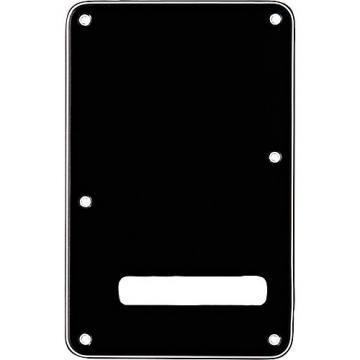 Fender Stratocaster Backplate Black