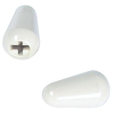 Fender Original Stratocaster White Switch Tips (2)