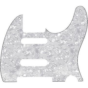 Fender Tele Pickguard for B Bender White Pearl