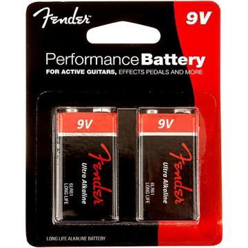 Fender 9 Volt Battery 2 Pack