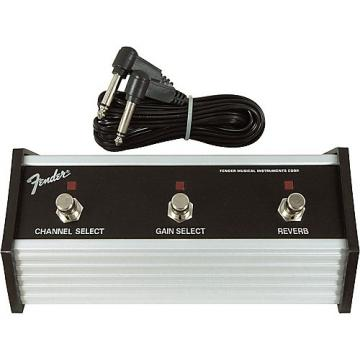 Fender 3-Button Channel Gain Reverb Footswitch