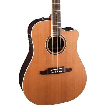 Fender F-1030SCE Cutaway Dreadnought Acoustic-Electric Guitar Natural