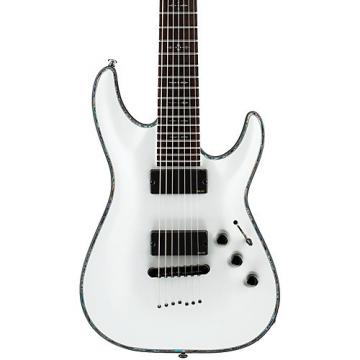 Schecter Guitar Research Hellraiser C-7 7-String Electric Guitar White