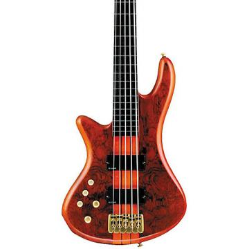 Schecter Guitar Research Stiletto Studio-5 Left-Handed Bass Satin Honey