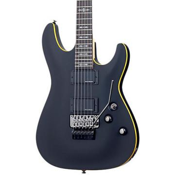 Schecter Guitar Research Demon-6 Electric Guitar with Floyd Rose Satin Black