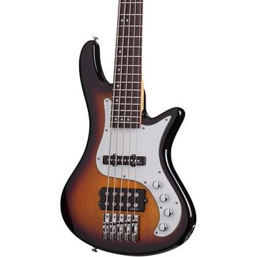 Schecter Guitar Research Stiletto Vintage-5 Five-String Electric Bass Guitar 3-Color Sunburst