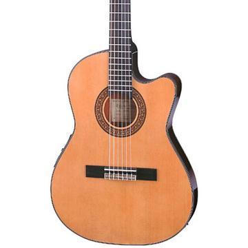 Ibanez GA Series GA5TCE Thinline Classical Acoustic-Electric Guitar Natural