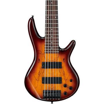 Ibanez GSR206SM 6-String Electric Bass Brown Burst