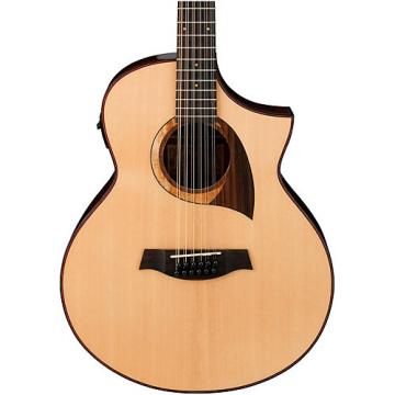 Ibanez Exotic Wood AEW2212CD-NT 12-String Acoustic-Electric Guitar Natural