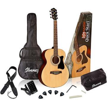 Ibanez IJVC50 Jampack Grand Concert Acoustic Guitar Pack Natural
