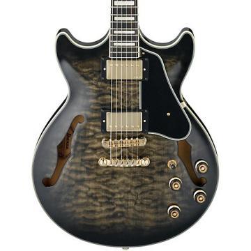 Ibanez AM93 Artcore Expressionist Series Semi-Hollowbody Electric Guitar Transparent Black Sunburst