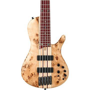 Ibanez SR Standard Series SR805 5-String Electric Bass Natural Flat Flat Natural