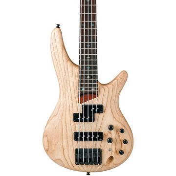 Ibanez SR655 5-String Electric Bass Guitar Flat Natural