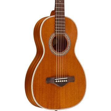 Ibanez Artwood Vintage All Mahogany Parlor Acoustic Electric Guitar Natural