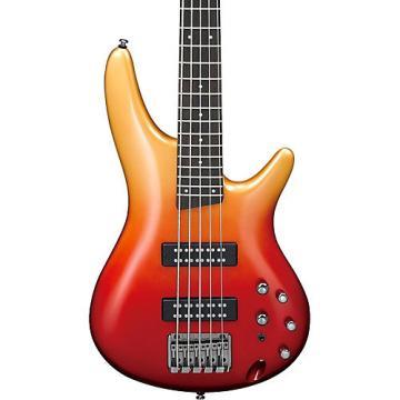Ibanez SR305E 5-String Electric Bass Guitar Autumn Fade Metallic