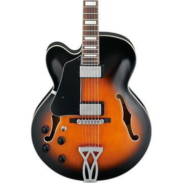 Ibanez Artcore Series AF75L Left Handed Hollowbody Electric Guitar Vintage Sunburst