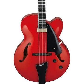 Ibanez AFC Contemporary Archtop Electric Guitar Sunrise Red