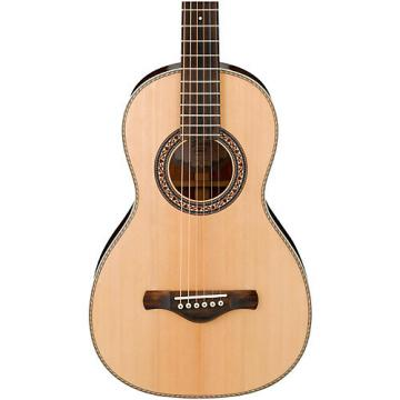 Ibanez Artwood Vintage AVN3NT Spruce/Mahogany Parlor Acoustic Guitar Natural